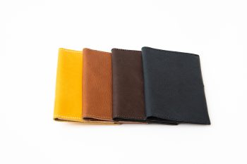 Collection of the sustainable passport cases, NOA, by BONENFANT atelier