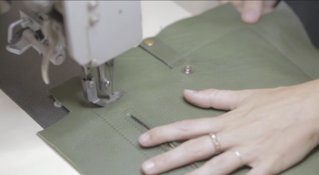 sustainable leather maker | Bonenfant Atelier